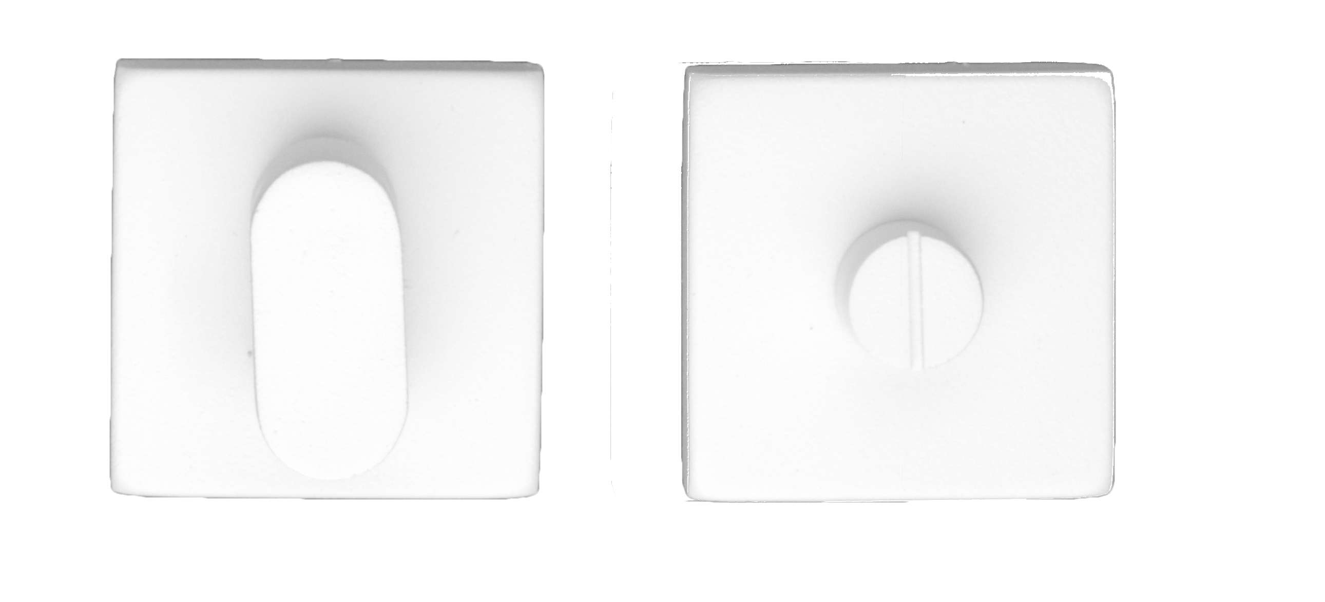 GARNITURE WC KUBIC SHAPE BLANC SANS ROUGE ET BLANC