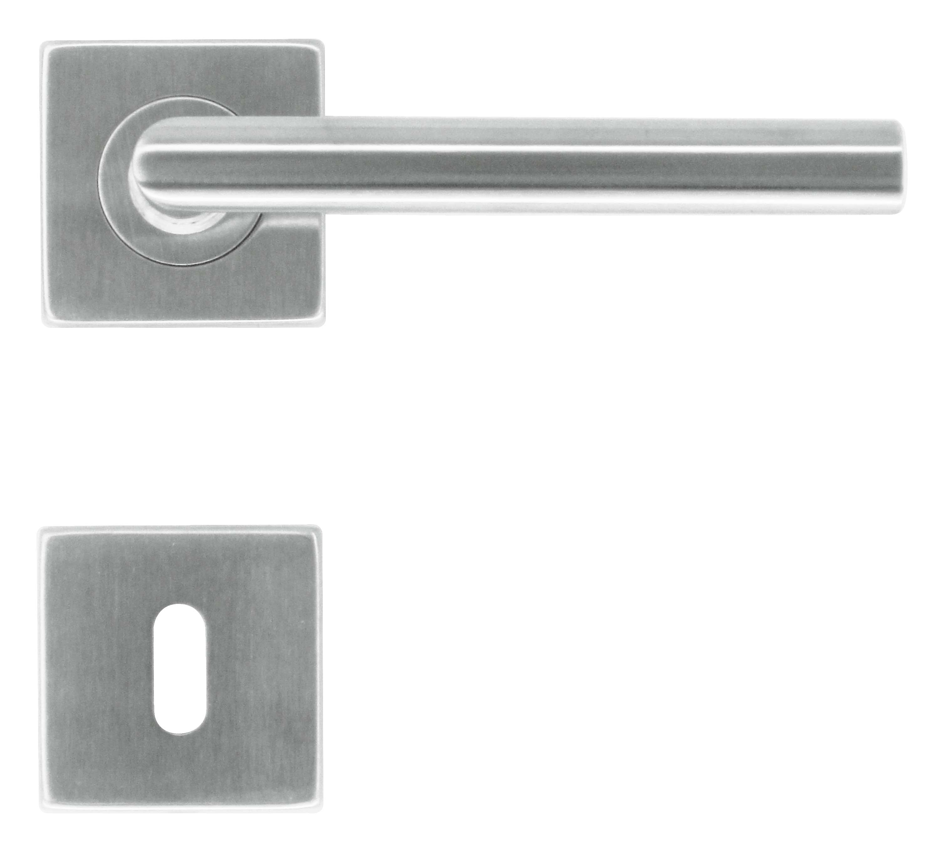 BEQUILLE SQUARE I SHAPE 16MM  INOX PLUS R+E