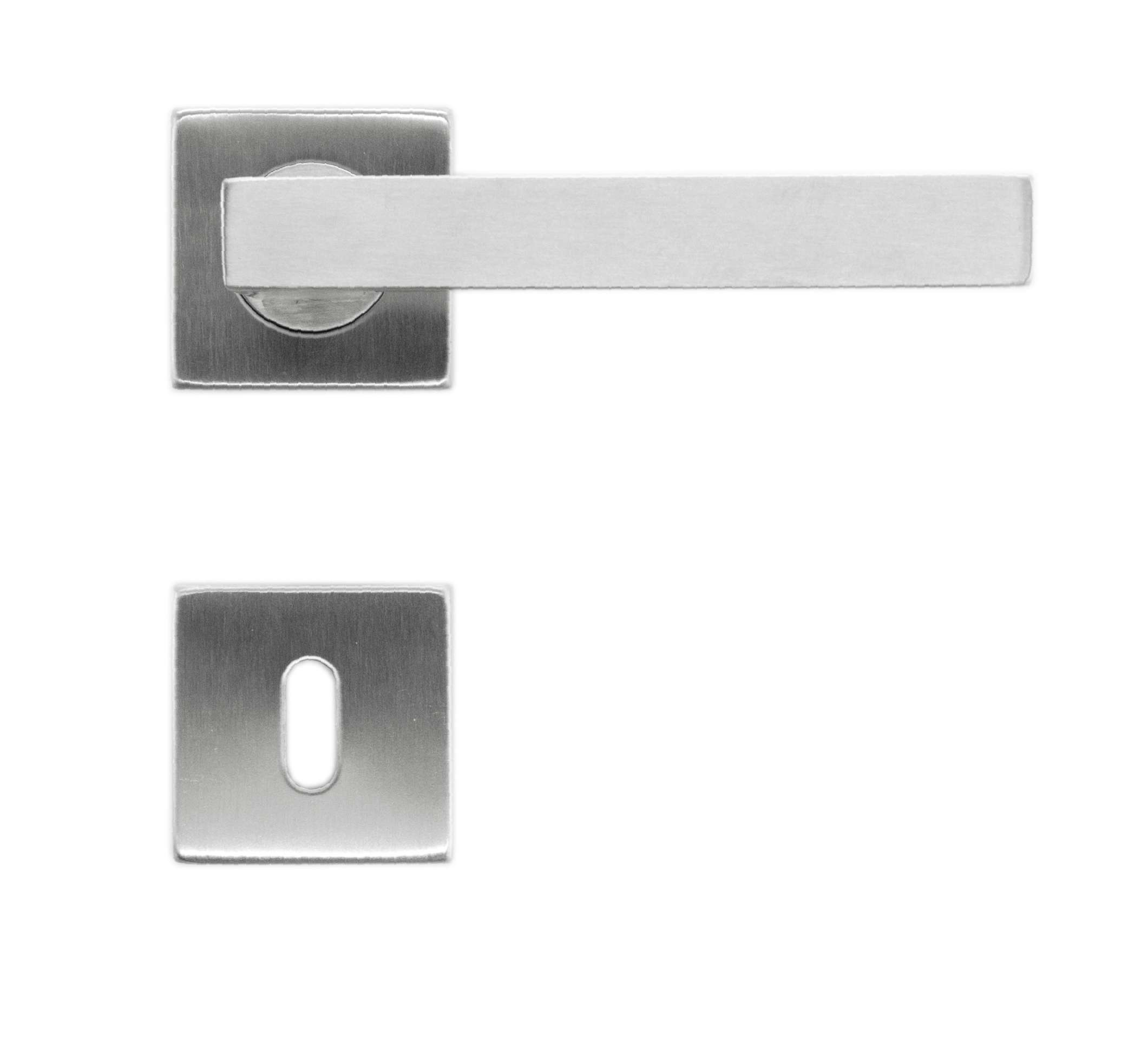 BEQUILLE KUBIC SHAPE 19MM INOX PLUS R+E