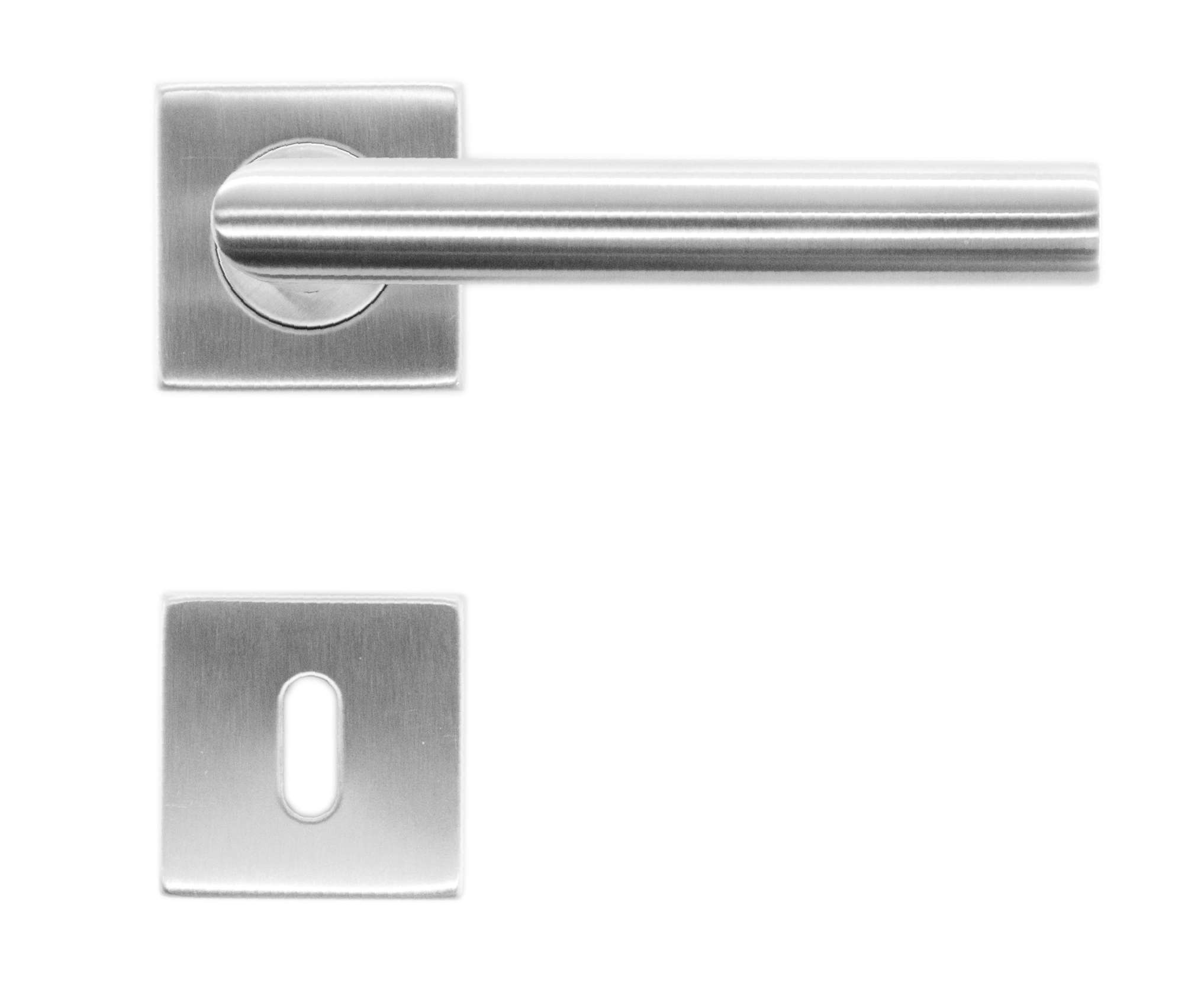 BEQUILLE SQUARE I SHAPE 19MM INOX PLUS R+E