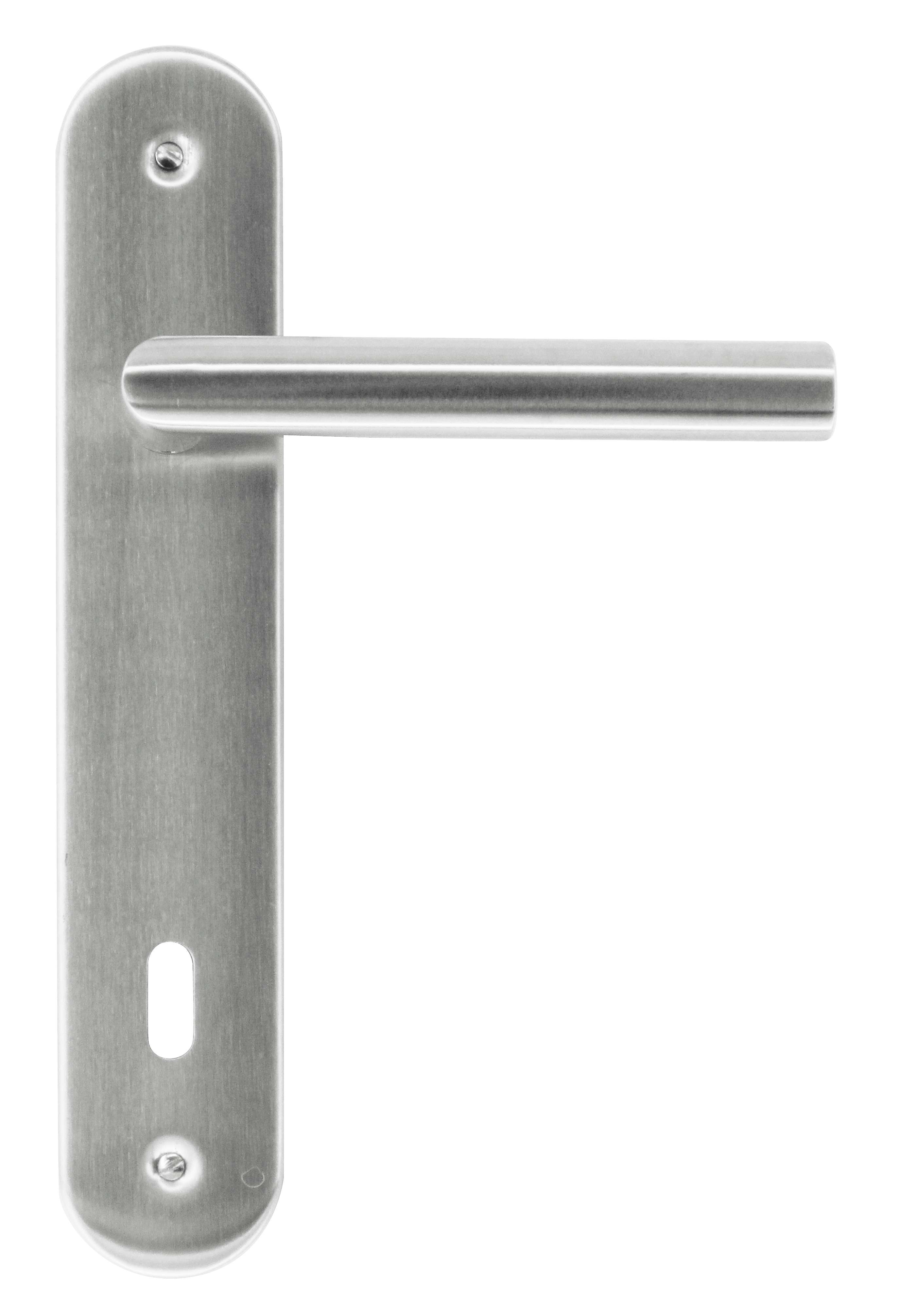 BEQUILLE pro I SHAPE 19MM INOX PLUS PLAQUE