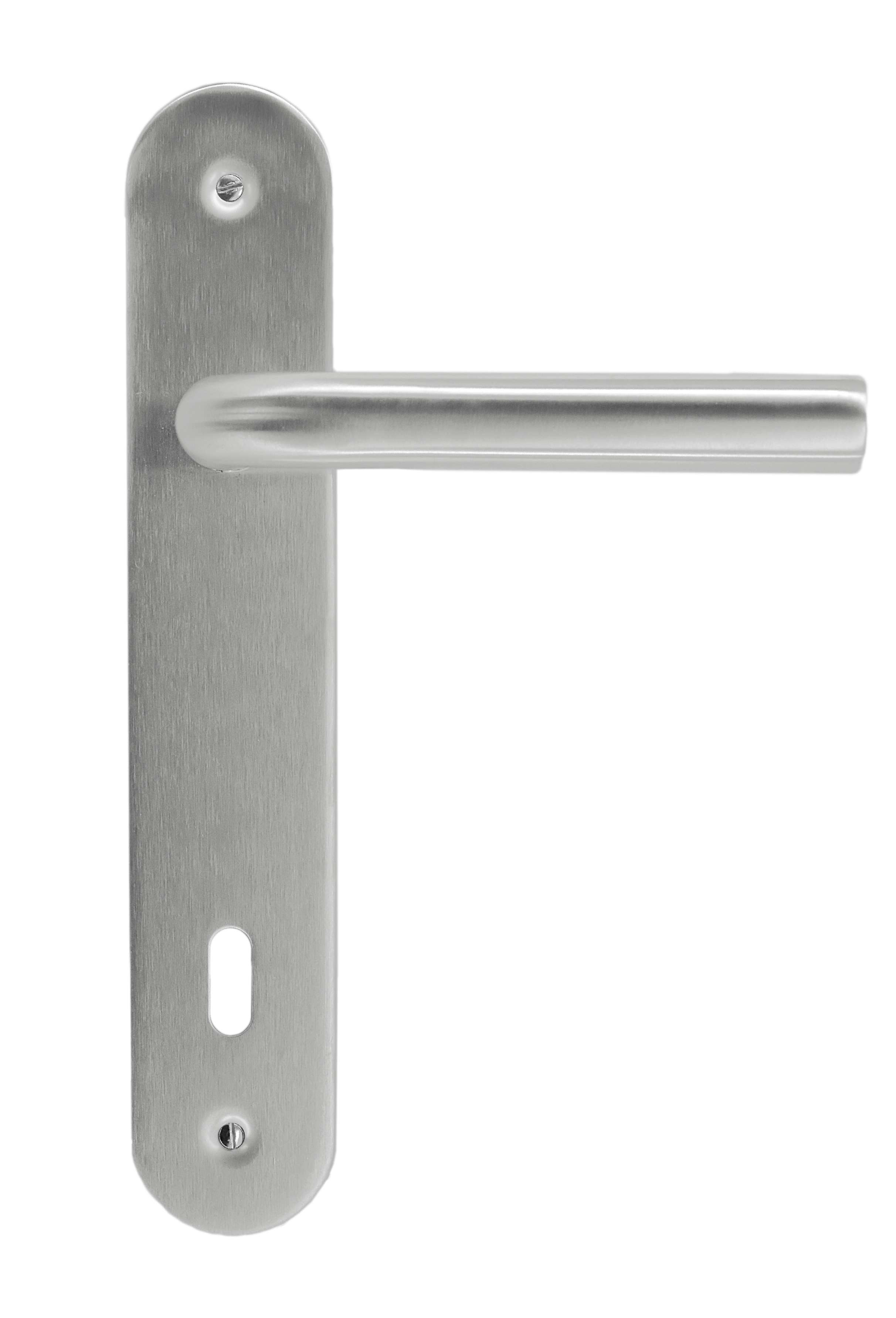BEQUILLE pro L SHAPE 19MM INOX PLUS PLAQUE